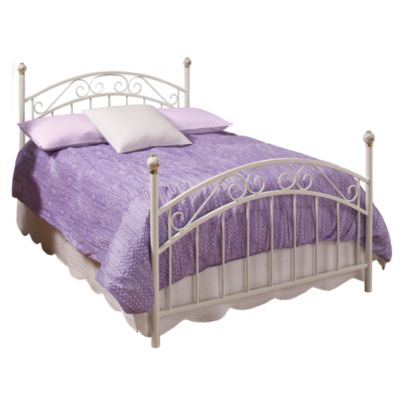 Hillsdale White Twin Bed