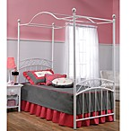 Hillsdale Emily Canopy Bed Set with Rails