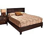 Hillsdale Harbortown Brown Complete Bed Set with Side Rails