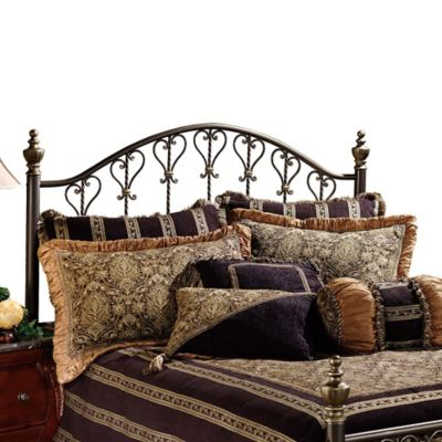 Hillsdale Huntley King Headboard with Rails