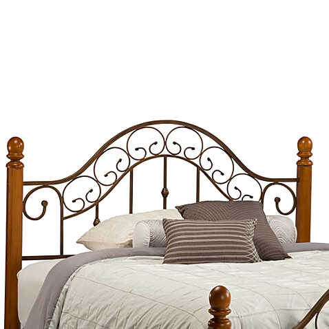 Hillsdale San Marco Headboard with Post Kit & Rails