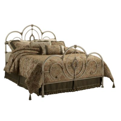 Hillsdale Victoria Twin Bed Set with Rails