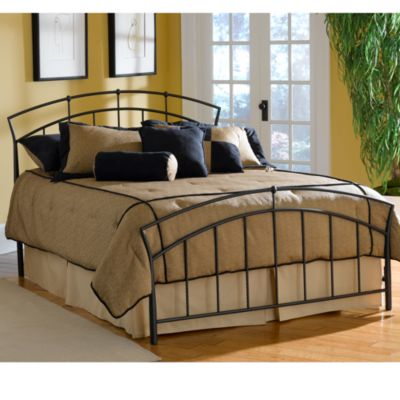 Hillsdale Vancouver Full Duo Panel Bed Set with Rails