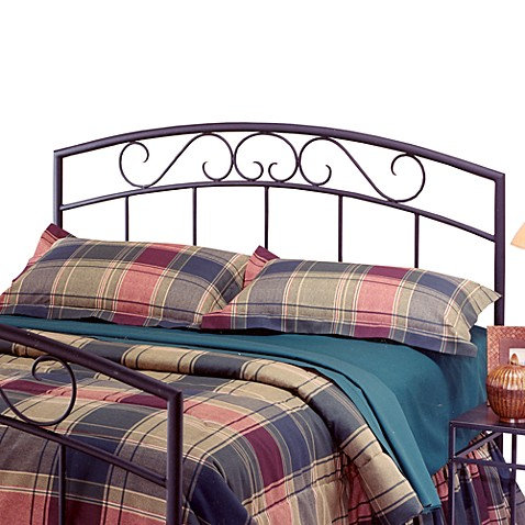 Hillsdale Wendell Black Twin Headboard with Rails