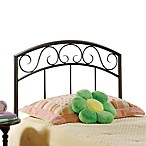 Hillsdale Wendell Copper Pebble Twin Headboard with Rails