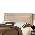 Hillsdale Amber Buckwheat Fabric Queen Headboard