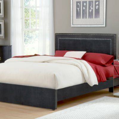 Hillsdale Amber Queen Bed in Pewter