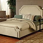 Hillsdale Carlyle Buckwheat Fabric Queen Bed Set