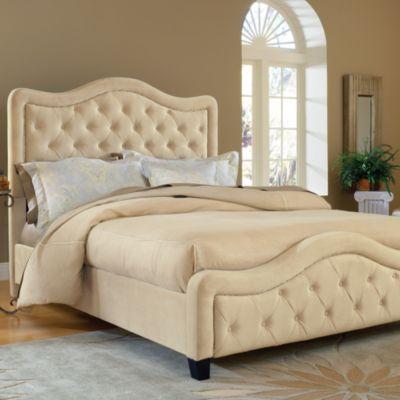Trieste Queen Bed in Buckwheat