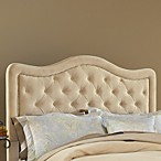 Hillsdale Trieste Buckwheat Fabric Queen Headboard