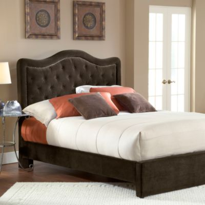 Hillsdale Trieste Chocolate Fabric Queen Bed Set