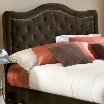 Hillsdale Trieste Chocolate Fabric Queen Headboard