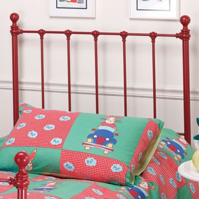 Hillsdale Molly Twin Bed Set with Rails in Yellow