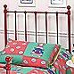 Hillsdale Molly Twin Bed Set with Rails in Red