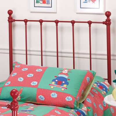 Hillsdale Molly Twin Headboard with Rails - Red