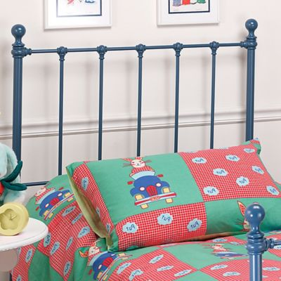 Hillsdale Molly Twin Headboard with Rails - Blue