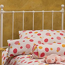 Hillsdale Molly Headboard with Rails in White