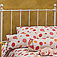 Hillsdale Molly Queen Headboard with Rails in White