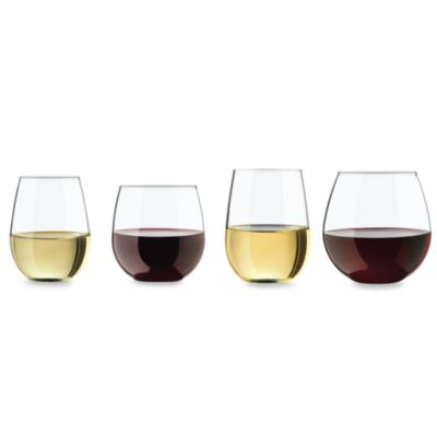 Vineyard Reserve 8-Piece Stemless Wine Glass Set