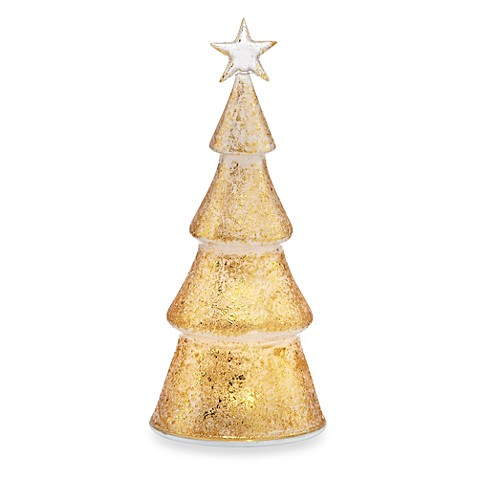 Lenox® Glisten and Gold Tree Lighted Figurine