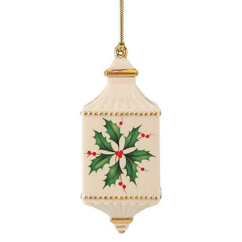 Buy Lenox 174 2012 Holiday Holly Ornament From Bed Bath Amp Beyond
