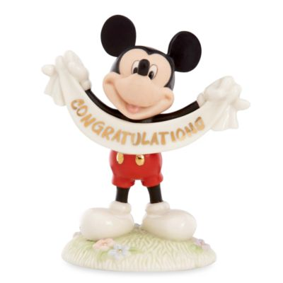 Disney® by Lenox® Mickey Mouse Lenox® Congratulations Sculpture