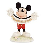 Disney's Mickey Mouse Lenox® Congratulations Sculpture