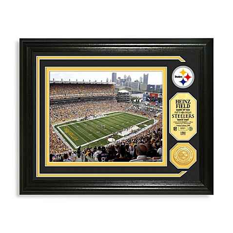 Heinz Field Minted Team Medallion Photo Mint Frame