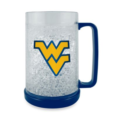 West Virginia University Collegiate Freezer Mug