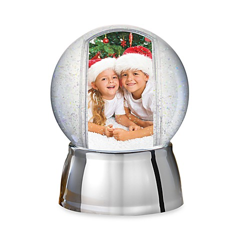 Prinz Recordable Photo Snow Globe