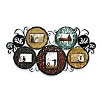 Multicolored Collage Picture Frame