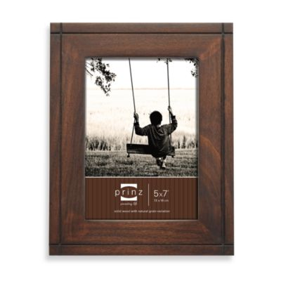 Prinz Dryden Dark Walnut Wood 8-Inch x 10-Inch Picture Frame