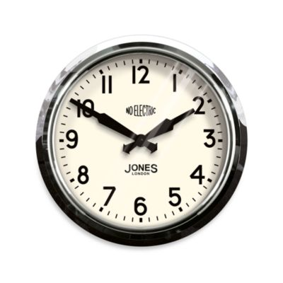 Jones® 14.5-Inch Retro No Electric Clock