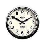 Jones® 14.5-Inch Retro No Electric Clock