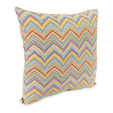 Madison Square 18-Inch Decorative Pillows : Jordan Roselle 18-Inch Square Outdoor Throw Pillow Collection - Bed Bath & Beyond