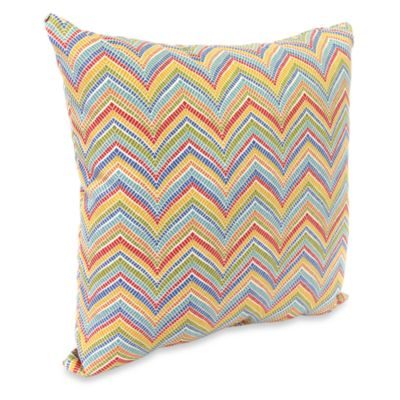 Jordan Roselle 16-Inch Square Outdoor Throw Pillow in Garden