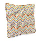Jordan Roselle Garden 18-Inch Boxed Outdoor Pillow with Welt