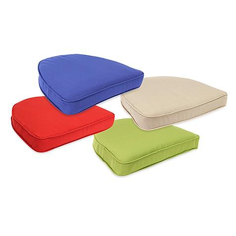 solar curved seat cushions www bedbathandbeyond com