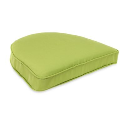 Solar Curved Seat Cushion in Kiwi