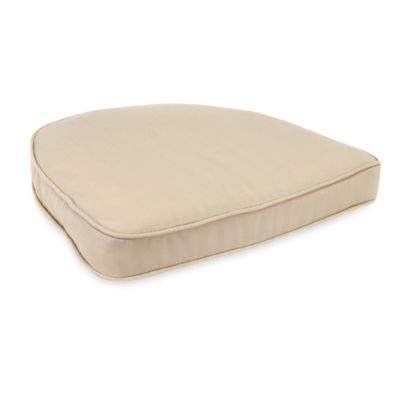 Solar Curved Seat Cushion in Natural