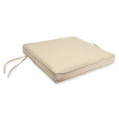 Jordan 19.5-Inch Square Seat Cushion in Natural