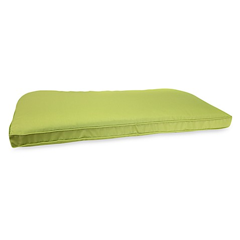 Buy Jordan Outdoor Swing Cushion in Kiwi from Bed Bath
