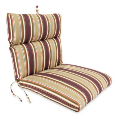 Jordan Outdoor Chair Cushion in Tuscabella Vineyard