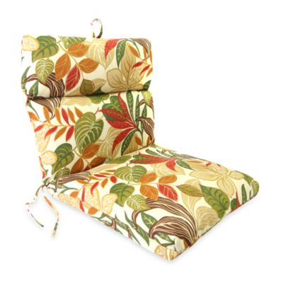 Jordan Outdoor Chair Cushion in Cayuga Garden
