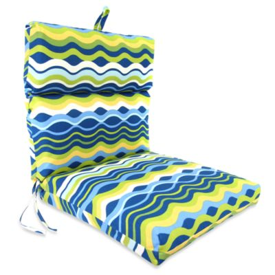 Jordan Outdoor Chair Cushion in Variations Poolside