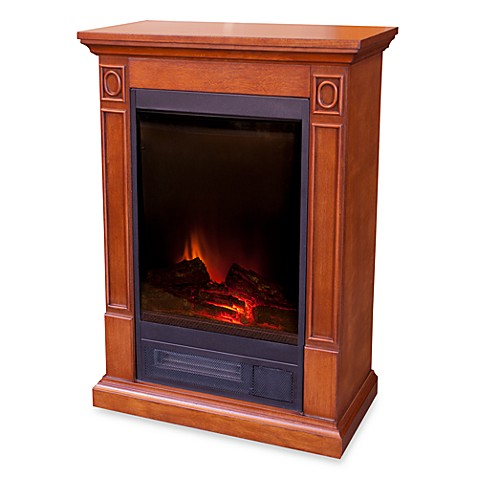 Borgen Electric Fireplace Mantel