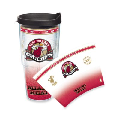 Tervis® Miami Heat 2012 NBA Champions Wrap 24-Ounce Tumbler with Lid