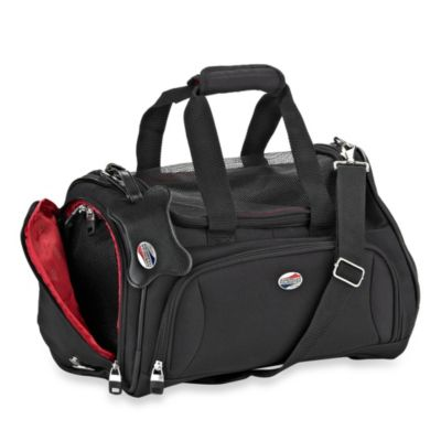 American Tourister Pet Smart Carrier in Black
