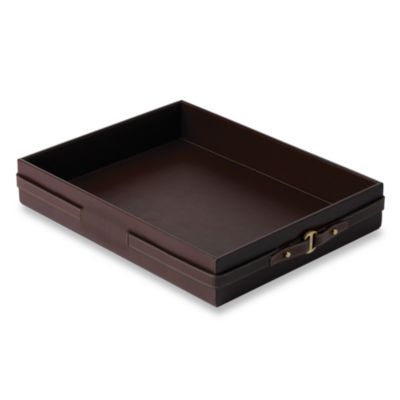 Wedgwood® Equestria Leather Desk Tray