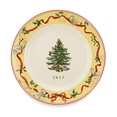 Spode® Christmas Tree 8-Inch Annual Collector Plate